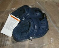 Crocs Baya Lined Clogs Black J33 Toddler New!
