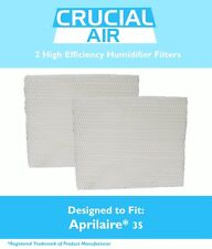 2 Aprilaire 35 Paper Wick Humidifier Water Pad Filter 350 360 560 560A 568 600