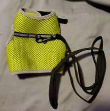 Rabbit/Ferret Harness and Leash Large Neon Yellow/Green