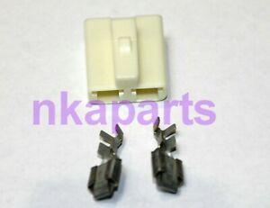 plastic female 2 pin  plug Connector Plugs gm alternator  chevy