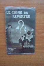 POLICE ET MYSTERE n° 308 : LE CRIME DU REPORTER