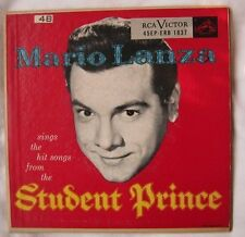 Mario Lanza Sings Hit Songs From The Student Prince 45EP-ERB 1837