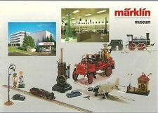 CPA Märklin museum jouet toy chemin de fer RARE