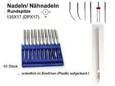 10 Nadeln 135x17, DPx17 Size 140/22  Ausprobier Test Kennenlern Angebot #kmL