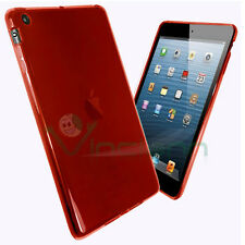 PELLICOLA+Custodia Perfect Fit rosso trasparente per iPad mini 2 retina cover