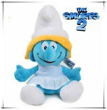 SMURFETTE 42CM LARGE THE SMURFS VINTAGE PLUSH DOLL KID BABY SOFT TOY COLLECTION