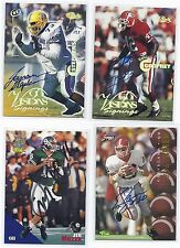 Jim Miller Signed Football Card Michigan State 1994