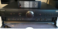 TECHNICS SU-A707 STEREO AMPLIFIER WITH PHONO STAGE !!! ORIGINAL REMOTE !!! RARE