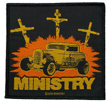 (SP2985)Ministry Aufnäher Jesus Build My Hod Rod Patch Gewebt & Lizenziert !!