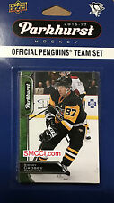 Pittsburgh Penguins 2016 2017 Upper Deck PARKHURST Factory Team Set Crosby plus