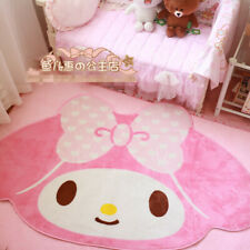 Kawaii Bowknot My Melody Kitty Carpet Big Home Room Decoration Cos Gift