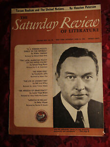 Saturday Review June 12 1943 WALTER LIPPMANN HOUSTON PETERSON