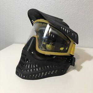 Vintage JT Clear Goggles Frames Black Mask Flex Rare OG Spectra Proflex