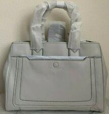 NWT Marc Jacobs Empire City Leather Tote Satchel Bag $445 Light Grey Original Pa