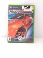 Need for Speed Underground Original XBOX Complete Tested Fast Shipping!