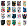 ALVA Baby Cloth Diapers Lot One Size Reusable Washable Pocket Nappies