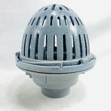 WATTS Cast Iron Round Roof Drain B3-FLG with Dome B3-KDM, B3-3NH