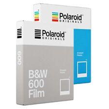 Película instantánea Polaroid 600-Paquete Doble - 1x película de color 1x Película Blanco y Negro