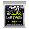 Ernie Ball Regular Slinky Flatwound Electric Bass Strings 50-105