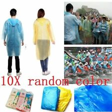 Einweg Kinder Poncho Regenjacke Regenmantel Regenschirm Regencape Notfall Poncho Angelsport