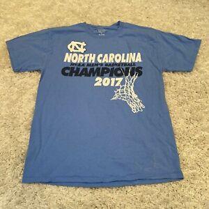 Vintage CHAMPION Mens T Shirt Medium Blue North Carolina Tar Heels Champions Tee
