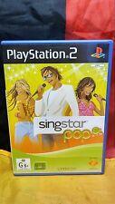 Singstar Pop - Sony PS2 PAL - Includes Manual