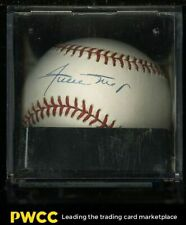 Willie Mays Signed Autographed Baseball Sweet Spot AUTO, PSA/DNA 7.5