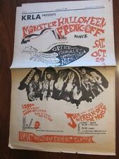 SEEDS West Coast Pop Art Experimental Band 1966 Concert ad