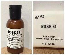 ROSE 31 LUXURY 2pc Toiletry Set Soap + Hair Conditioner NEW