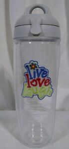 Live Laugh Love Tervis Water Bottle. 24 oz. with lid