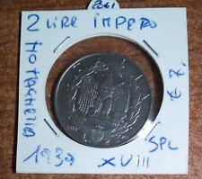 2 LIRE IMPERO, MAGNETICA 1939  N.2061