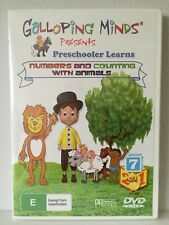 GALLOPING MINDS PRESCHOOLER LEARNS NUMBERS and COUNTING with ANIMALS ~ NEW DVD