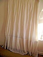 Net Curtains 192cm x 220cm.