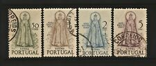 Portugal 1950 Holy Year LADY OF FATIMA  Complete Set AF 719/22 = Scott 717/20