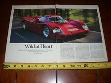 PORSCHE 962R STREET LEGAL 600 HP RACE CAR ***ORIGINAL 1991 ARTICLE***