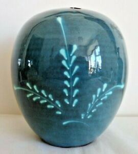 Studio Pottery Bowl Vase, George Tonkin Holland, Dunster Pottery, Incised GTH