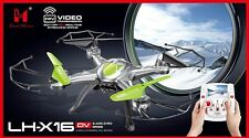 BEST DEAL LH-X16DV (GREEN) 2.4G 6CH 6Axis GYRO RC Camera Quadcopter 3D FPV