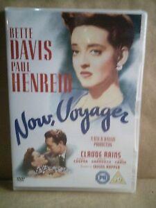 Now, Voyager - Bette Davis - Claude Rains- UK DVD - New/Sealed