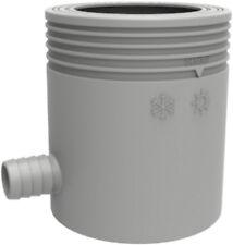 Marley Regensammler mit Filter und Überlaufstop DN 75 grau Regenrinne Neuware