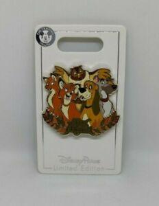 Fox and the Hound Todd Copper 40th Anniversary LE 2000 Disney Pin