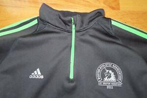 April 2011 Adidas 115th B.A.A. BOSTON MARATHON Zippered (XL) Warm-Up Jacket