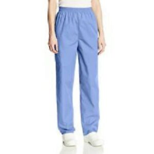 CHEROKEE CIEL ROYAL NAVY TEAL WHITE SCRUBS STYLE 1035 MEDICAL PANTS ALL SIZES