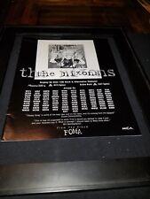 The Nixons Happy Song Rare Original Radio Promo Poster Ad Framed!