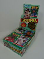 1991 Series 2 Donruss Baseball Puzzle and Cards Opened Box