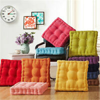 Thick Corduroy Cushion Colorful Chair Pads Patio Car Office Corduroy Home Decor