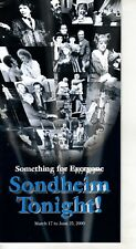 SONDHEIM TONIGHT-SOMETHING FOR EVERYONE-TV MUSEUM RETRO CATALOG 2000