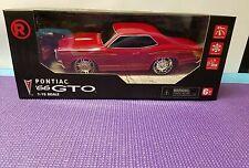 RC - Car 1966 Pontiac GTO 1:15 Scale RED 6001440 NEW