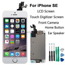 Full Set LCD Touch Screen Digitizer Assembly Replacement for iPhone SE White