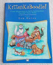 Gerou Kitten KaBoodle 8 Piano Solos L Elemen to Int New