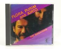 Flora Purim & Airto - The Magicians CD, Crossover CCD-45001, Nice, Free Ship.